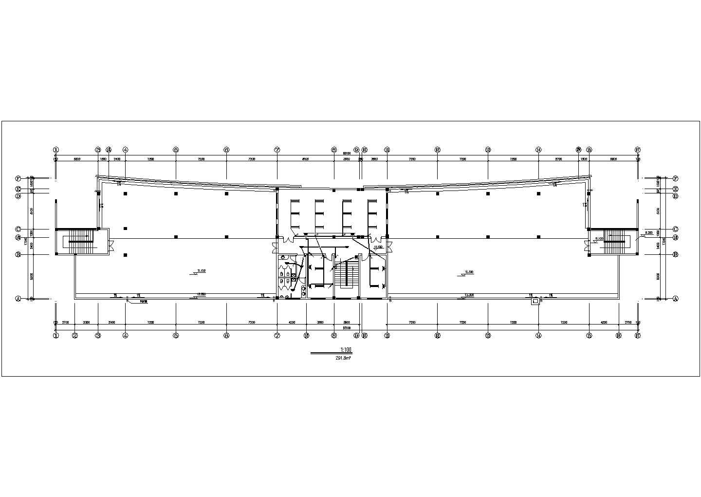 多层办公楼电气施工cad图,共11张图片2
