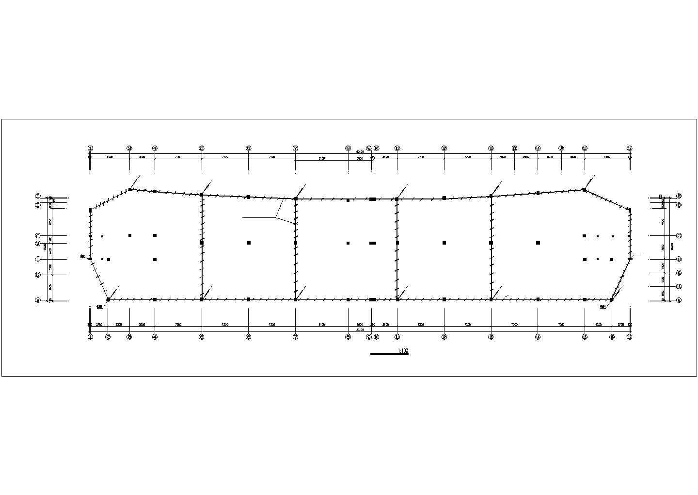 多层办公楼电气施工cad图,共11张图片3