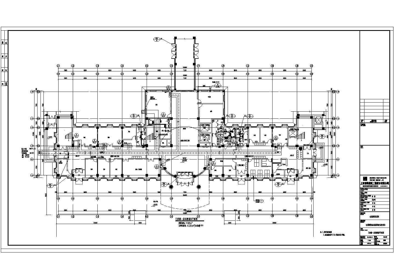 达茂旗蒙医院大楼地暖采暖与通风施工图图纸(含详细水力计算书与负荷计算书)图片2