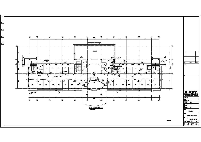 达茂旗蒙医院大楼地暖采暖与通风施工图图纸(含详细水力计算书与负荷计算书)图片3