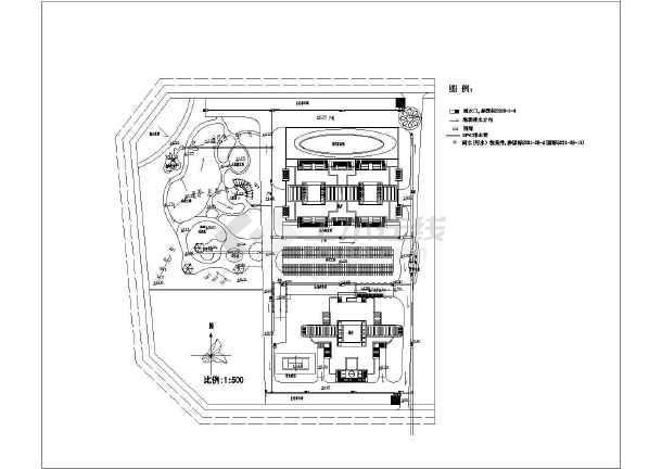 某小区给排水施工图,含设计说明-图二