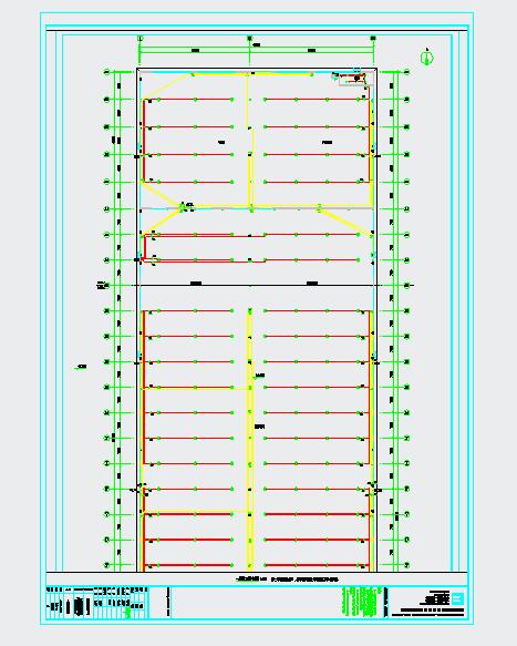 259x68米钢构厂房电气施工图图片2