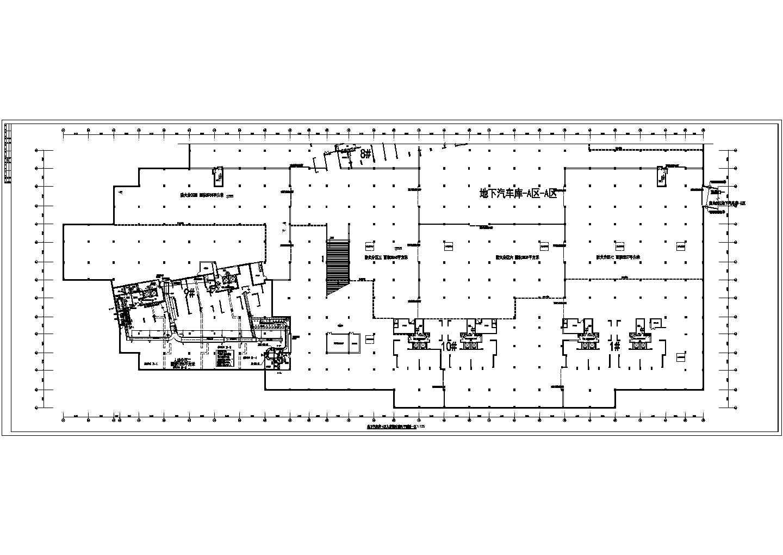 某地下车库通风平面图(共8张图纸)图片2