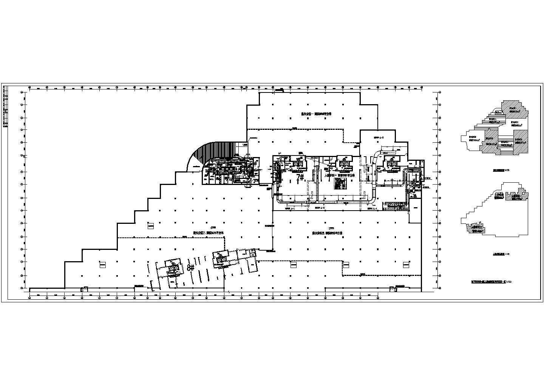某地下车库通风平面图(共8张图纸)图片3