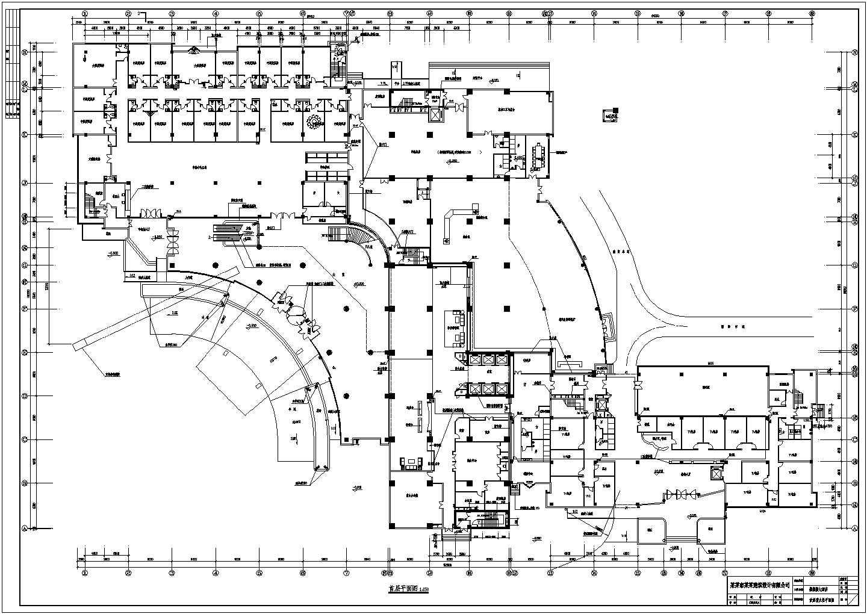 某酒店室内各层消防平面图图片2