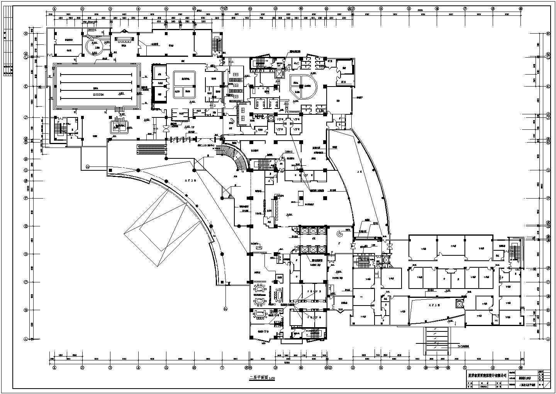 某酒店室内各层消防平面图图片3