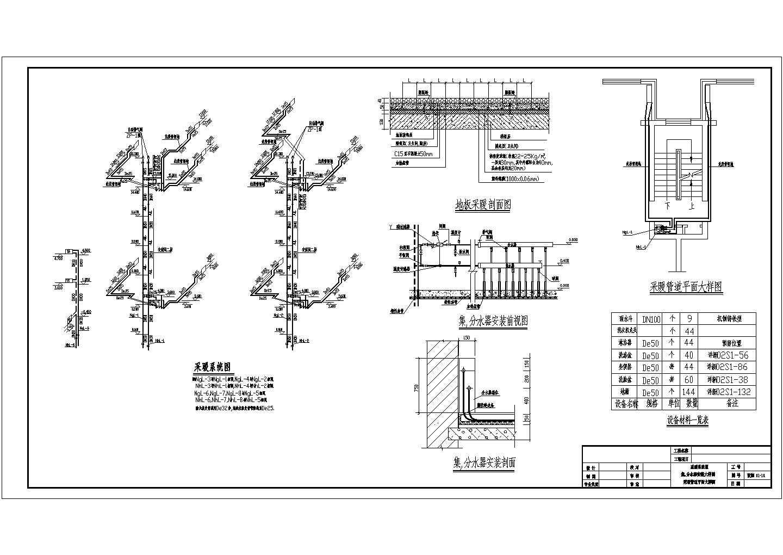 某4205�O地上六层商住楼采暖图(含设计说明)图片3
