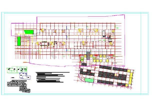某县社区卫生院迁建工程地下室给排水施工图-图一