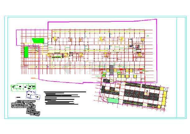 某县社区卫生院迁建工程地下室给排水施工图-图二