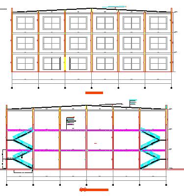 某百货商场结构设计图,含设计说明图片2