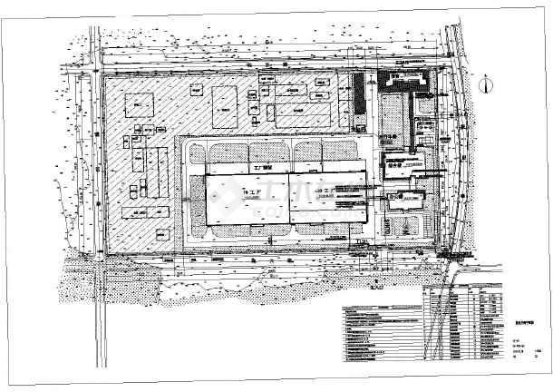 点击查看某机械设备厂区电气外网图第1张大图