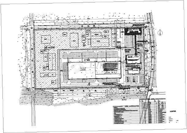 点击查看某机械设备厂区电气外网图第2张大图