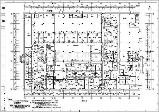 固体制剂车间暖通施工图纸(包含5套图纸)-图二
