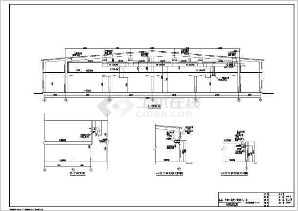 太原某D13栋厂房暖通设计cad图-图一