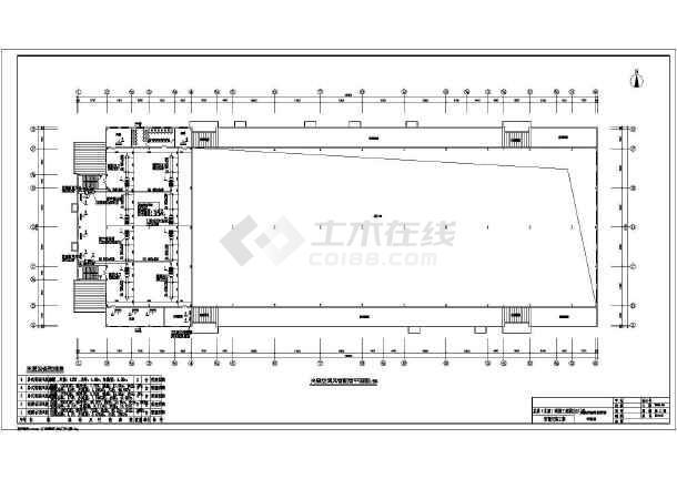 太原某D13栋厂房暖通设计cad图-图二