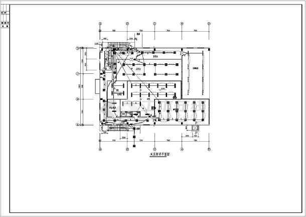 某日本洁净厂房电气竣工图-图一