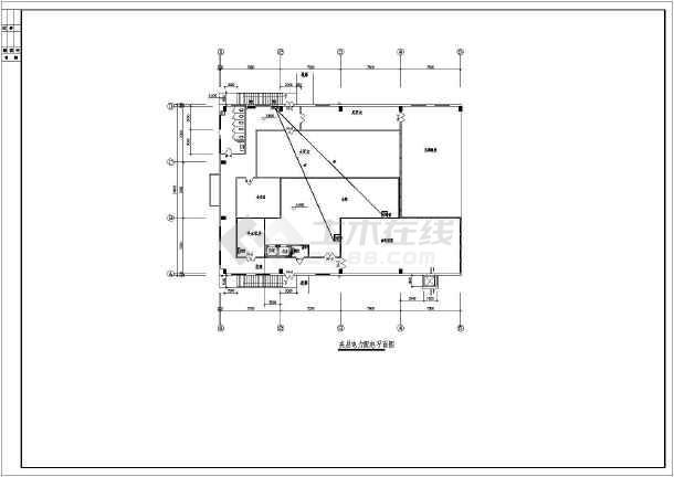 某日本洁净厂房电气竣工图-图二