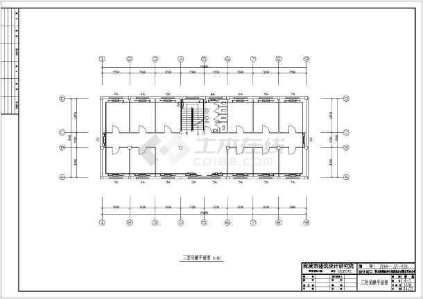 点击查看鞍山某公司办公楼暖通设计cad图第1张大图