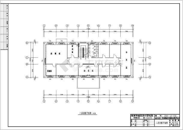 点击查看鞍山某公司办公楼暖通设计cad图第2张大图