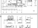 某空调制冷机房设计cad图图片2