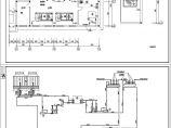 某空调制冷机房设计cad图图片3