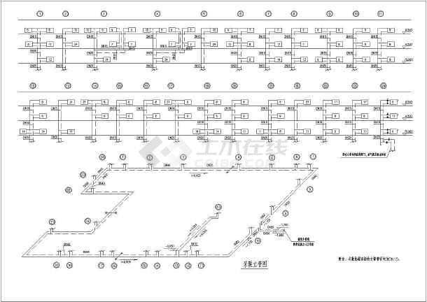 某工程暖通空调及动力设计图(共30张图纸)-图二