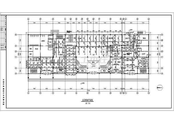 某酒店给排水设计cad图,共28张-图一