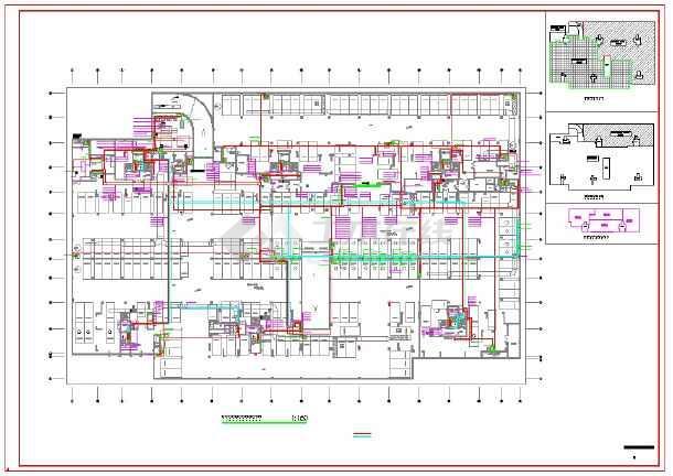 中沙北岸棚户区安置改造项目--地下室电气-图一