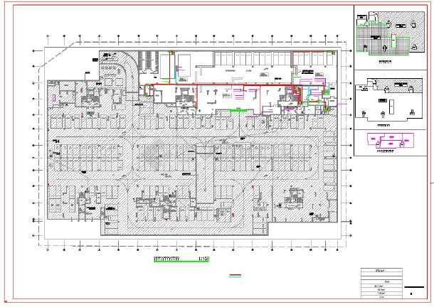 中沙北岸棚户区安置改造项目--地下室电气-图二