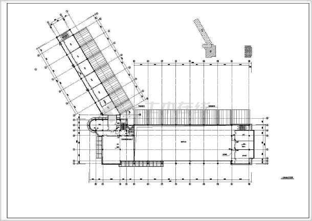 某客运站给排水消防设计cad图-图二
