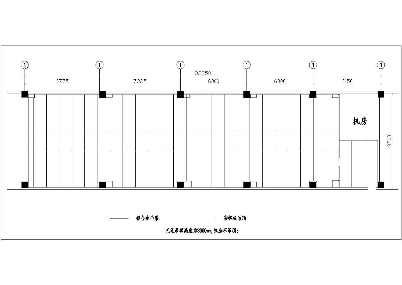 某十万级洁净厂房空调设计cad图图片3