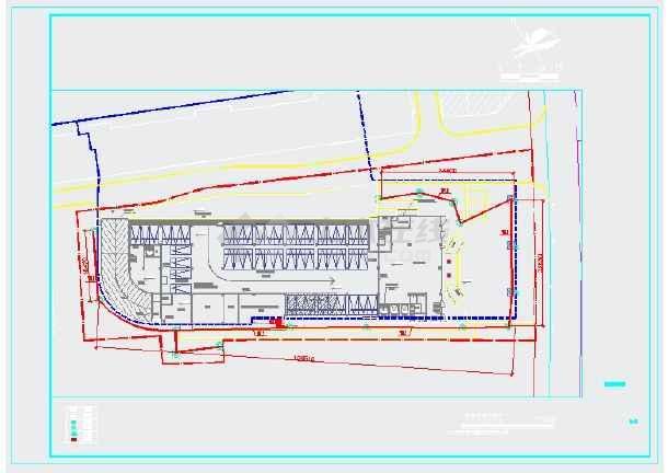 某社区五层医院新建项目--室外电气图纸-图二