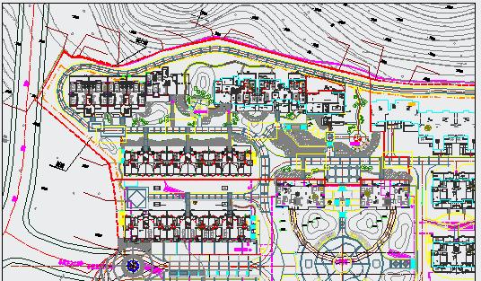 [南安]居住区三期组团绿地植物配置设计施工图图片2