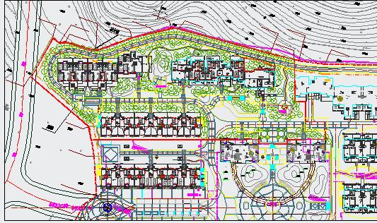 [南安]居住区三期组团绿地植物配置设计施工图图片3