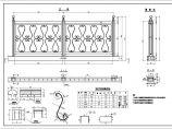 各种桥梁栏杆设计图集及构造详图图片2