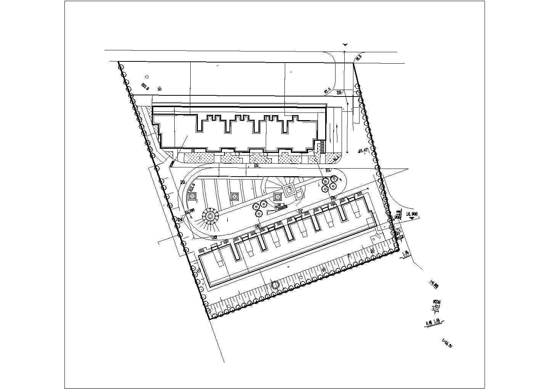[福州]小区园林景观工程施工图图片1