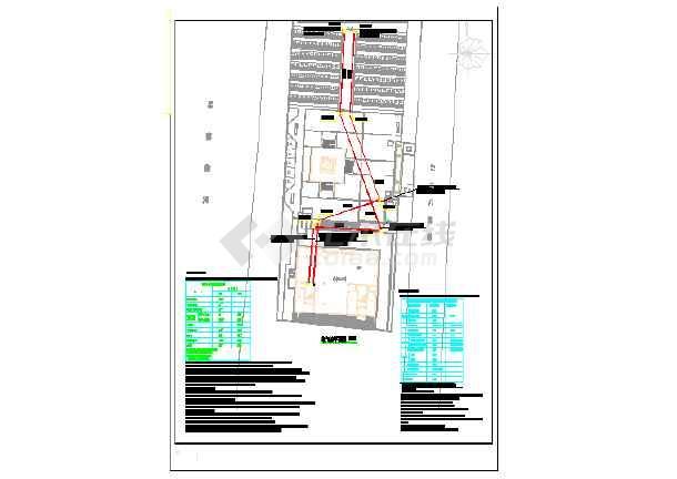 某地烈士纪念馆及室外电气设计施工图-图二