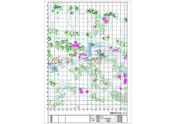 [东莞]山顶公园园林设计施工图-图二