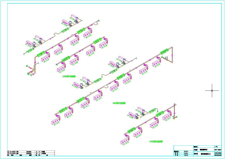 大型物流冷库制冷系统图纸图片1