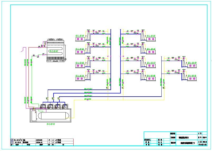 大型物流冷库制冷系统图纸图片2