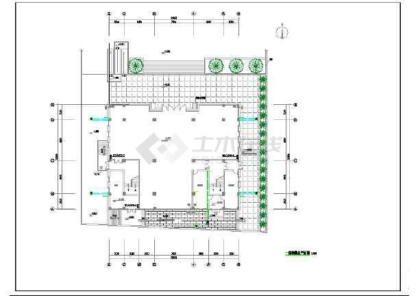 某地烈士烈士纪念馆及室外给排水设计-图一