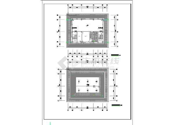 某地烈士烈士纪念馆及室外给排水设计-图二