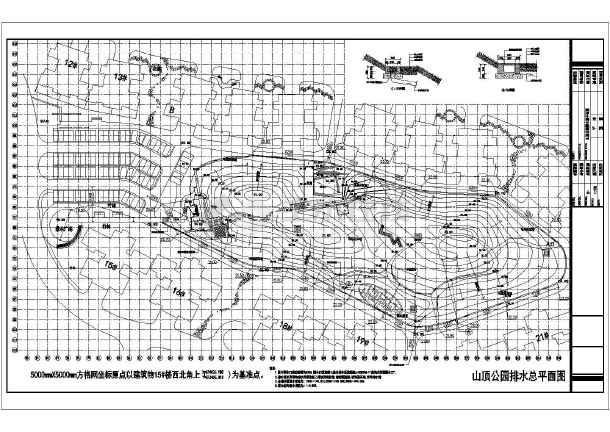[东莞]山顶公园园林设计施工图-图一