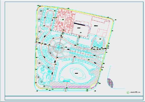 点击查看[山东]城市广场园林景观工程施工图第1张大图