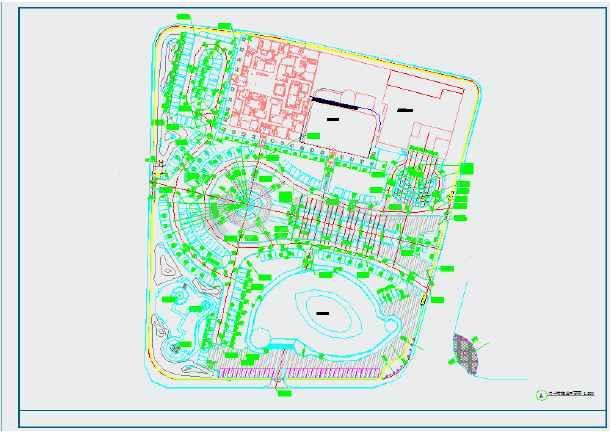 点击查看[山东]城市广场园林景观工程施工图第2张大图