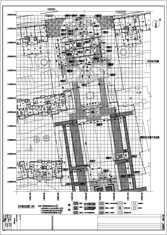 中山小区启动区园林景观工程施工图全套图片1