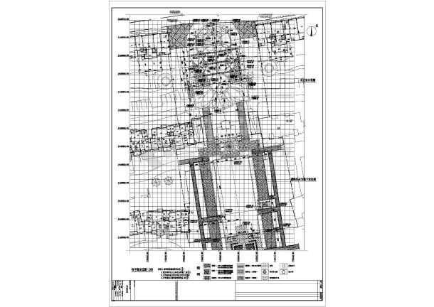 点击查看中山小区启动区园林景观工程施工图全套第1张大图