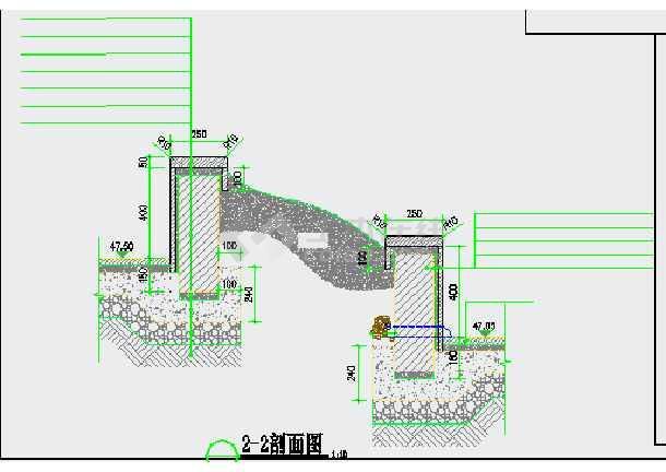 [深圳]公园滨水广场园林景观工程施工图-图二