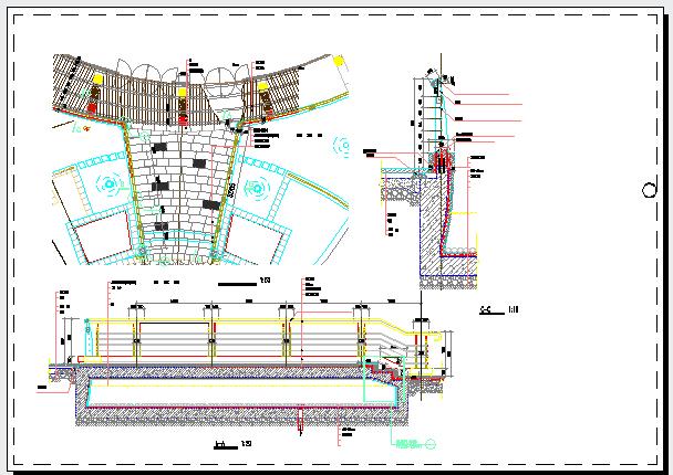深圳小区一期园林景观工程施工图全套图片1