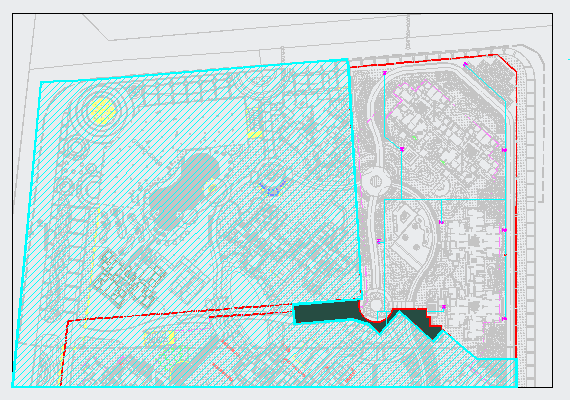 [成都]小区园林景观工程施工图全套图片1